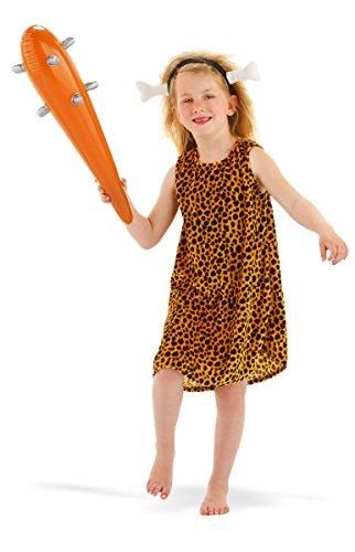 Imagen de disfraz niña troglodita 3 5 años. talla s halloween