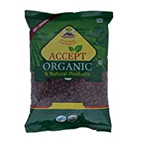 Accept Organic Red Rajma/Kidney Beans 0.5 KG Pack of Healthy & Organic Food