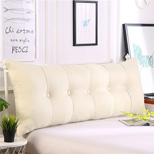 Gy capezzale schienale imbottito, cotone pp cuscini matrimoniali, supporto lettura cuscini da letto, multifunzione casa ufficio cintura del divano, lavabile 4 colori, 6 dimensioni