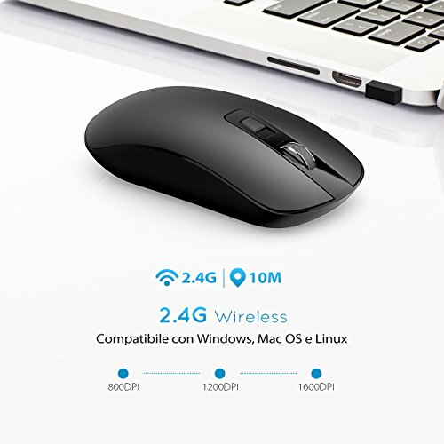 Zoom IMG-3 topelek mouse wireless senza fili