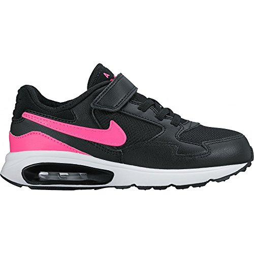 Nike Air Max St (Psv), Chaussures de Running Entrainement Fille Noir (Noir / Rose-Blanc Explosion)