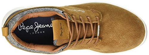 Pepe Jeans London Jayden, Sneaker Basse Uomo Marrone (Marron (859Tobacco))