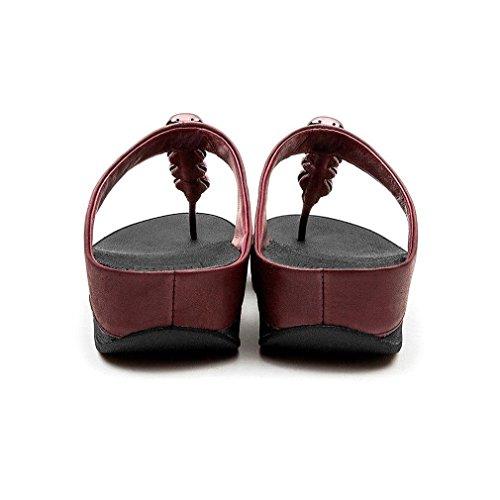 FitFlop™ Rola Womens Fuß Post Sandalen Lila