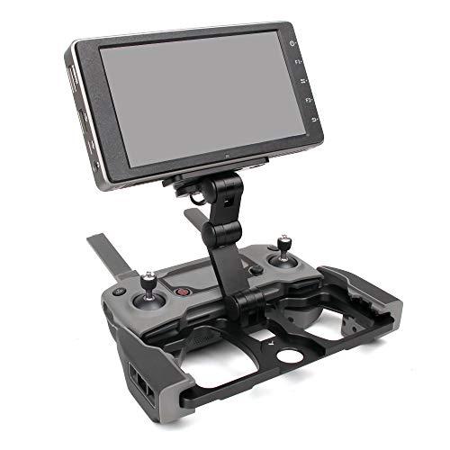 RC GearPro Faltbare Fernbedienung Monitor Halter Telefon Tablet Monitor Bildschirm Halterung Clip für DJI Mavic 2 Zoom/Pro, Mavic PRO/Platinum / AIR, DJI Funken Drone (Black)