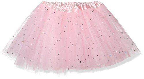 """Tante Tina -Tüllrock """"Stella"""" für Mädchen - Ballettrock mit Sternchen - Tütü Tutu Petticoat - in verschiedenen Farben - One Size"""