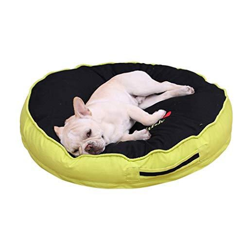 Black Dog Bed Donut Extra Large Cama de Perro Sofá para Ortopedias...