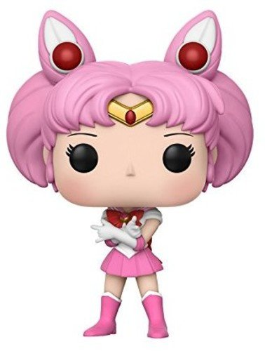 Funko Pop! - Anime: Sailor Figura de Vinilo Chibi Moon with Luna (13753)