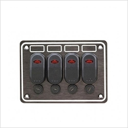 marine-boat-rv-4-gang-waterproof-fuse-holders-control-panel-with-illuminated-led-rocker-switches