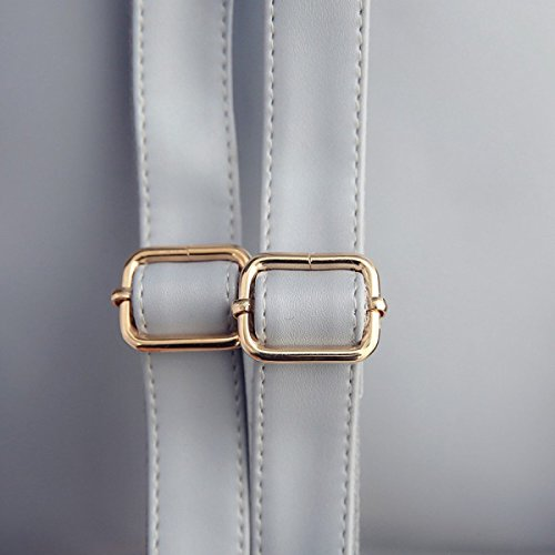 La Signora Bag Semplici Donne Di Moda Borsa A Tracolla Zaino Grey