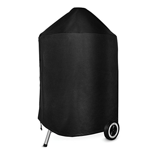 Onlyfire Kamado Charcoal Grill Cover (For 22 inch charcoal grill) waterproof, uv resistant, breathable