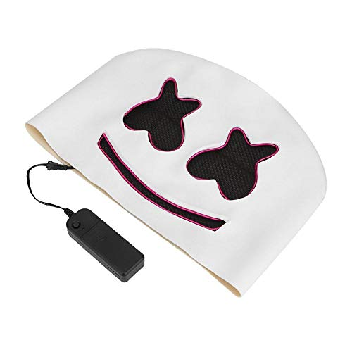 alloween Cosplay Party Maske DJ Helm für Kostüm Fancy Ball Bar DJ Maske (Lila Licht) ()