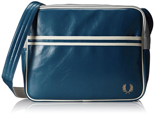 Fred Perry Herren Classic Shoulder Bag Blau Blau