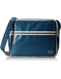 Fred Perry Hombres Classic Shoulder Bag Azul