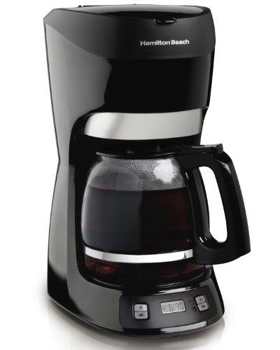 Hamilton Beach 49467 Independiente Manual - Cafetera (Independiente, Cafetera de filtro, Cápsula de café, Negro)