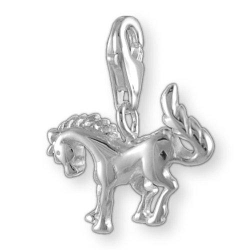 Melina Damen-Charm Anhänger Pferd Silber 925 1800080