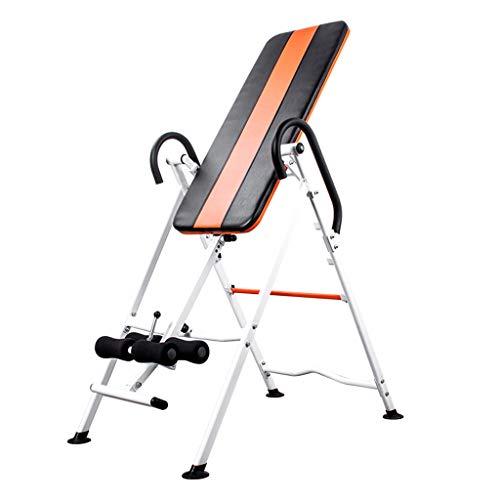 Schwerkrafttrainer Hochleistungsinversionstabelle Erleichterung Bei Rückenschmerzen Inversionstabellen Belastbarkeit 110 Kg (Color : Black, Size : 116x70x153cm)
