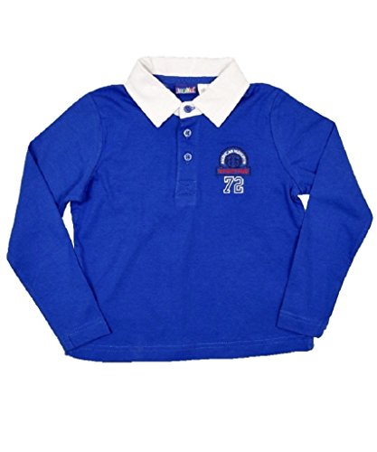 Boy'S New Lupilu Rugby Longsleeve Polo Shirt (2-4 Years)