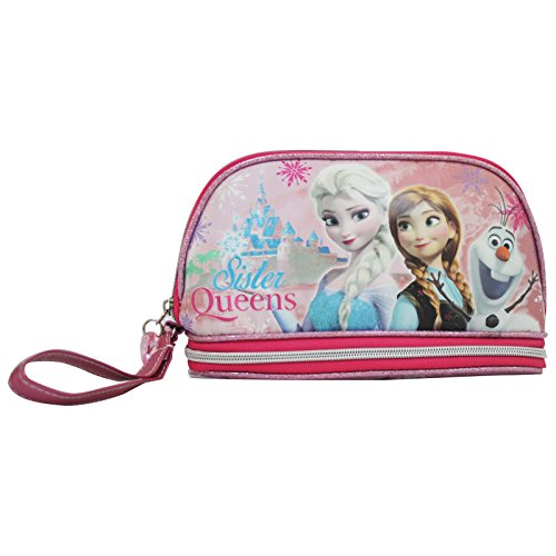Disney Frozen Fever Pochette Maquillage Make-Up Beauty Vanity Trousse