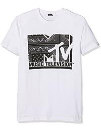 MTV Logo T-shirt blanc