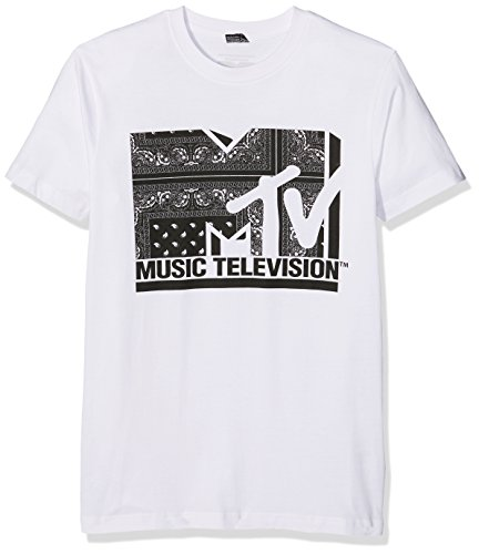 Mister Tee Uomo T-shirt MTV I am Music