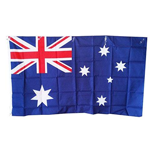 Australien-Flagge, Souvenirca. 150x 90cm groß. Polyester. Für Feiern.