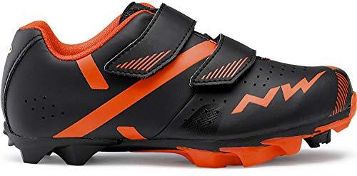 Northwave Hammer 2 Junior Kinder MTB Fahrrad Schuhe schwarz/rot 2019: Größe: 35