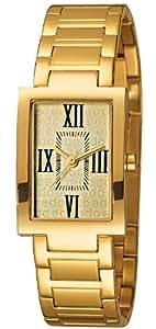 Edc Damen-Armbanduhr graceful gal - glamorous gold Analog Quarz Edelstahl EE100112003