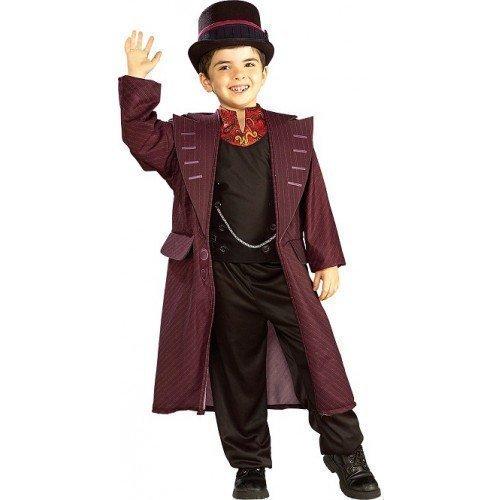 ly Wonka Charlie and the Chocolate Factory Buch Tag Woche Verkleidung Kleid Kostüm Outfit 3-10 Jahre - Multi, 5-7 Years (Herren Willy Wonka Kostüme)