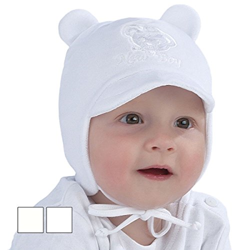 New Baby Boy Hat Jungen Herbst Winter Velours Peak Cap Taufe Taufe Hat 0–12 Monate