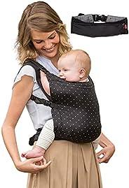 Infantino ZIP 2 in 1 travel carrier™ with Padded shoulder, Shoulder Straps/Wide waist Belt Easy to fold &