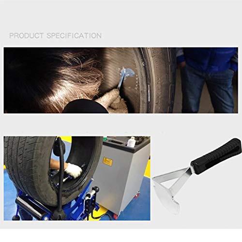 Webla-Alloy Reifen Inner Liner Scraper Hoe Style Reifen Futter Reparatur Patch Messer Werkzeug Kratzen der Wachs-Kit mit Kunststoffgriff
