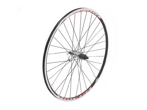 Tru-build 2012 Wheels 700C Front Wheel, Shimano Tiagra Hub, Mach 1 Omega Rim, 32H, Black. Black 700c -