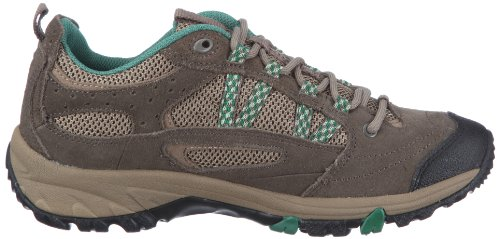 Hi Tec Harmony Lite W` HTO001612, Chaussures de randonnée tige basse femme Marron (TR-B2-Marron-385)
