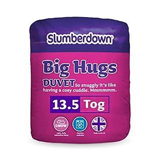 Slumberdown Big Hugs 13.5 Tog Duvet, White, Double