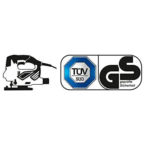 TROTEC Stichsäge PJSS 10-230V Pendelhubstichsäge inklusive Stichsägeblätter-Set Metall (10-teilig) - 6