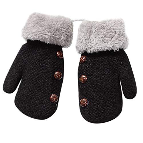 TEBAISE Weihnachten Baby Handschuhe Schön Baby Mädchen Junge Warme Handschuhe Weihnachten Baby Kleid ()
