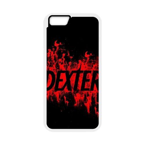 Dexter Blood coque iPhone 6 Plus 5.5 Inch Housse Blanc téléphone portable couverture de cas coque EBDXJKNBO09510