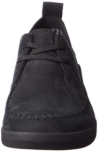 Clarks Tri Angel, Sneakers basses femme Noir (Black Combi)