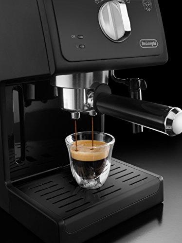 Espressomaschine: De'Longhi ECP31.21 Espresso-Siebträgermaschine, schwarz -