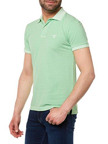 GANT Herren Poloshirt 262100 Hellgrün
