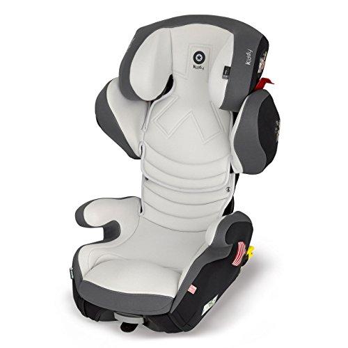 Preisvergleich Produktbild Kiddy Smartfix Autokindersitz, 3D-Wachstum, verstellbare Beinverlängerung, ISOFIX, Gruppe 2/3 (15-36 kg, ca. 3-ca. 12 Jahre)