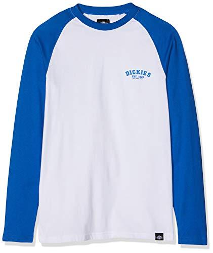 Dickies Herren Baseball Langarmshirt, Blau (Royal Blue 2 BLL), Large (Herstellergröße:Large) -