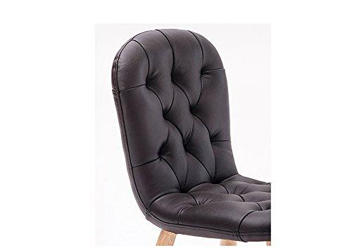 Wooden stool seggiolone sgabello basso sedia da scrittura per