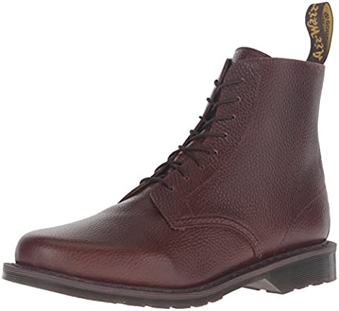 Dr.Martens Mens Eldritch 8 Eyelet Brown Leather Boots 42 EU