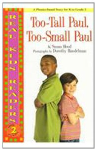 Too-Tall Paul, Too-Small Paul (Real Kid Readers: Level 2)
