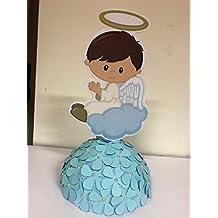 Centro de mesa para bautizo de niña o ...