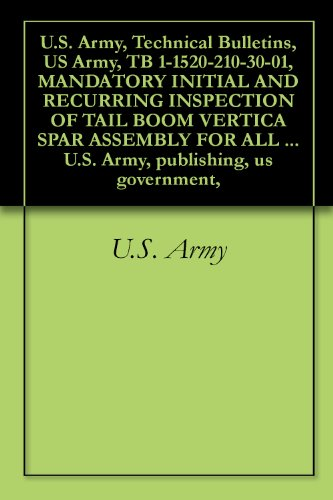 U.S. Army, Technical Bulletins, US Army, TB 1-1520-210-30-01, MANDATORY INITIAL AND RECURRING INSPECTION OF TAIL BOOM VERTICA SPAR ASSEMBLY FOR ALL UH-1 ... publishing, us government, (English Edition) -
