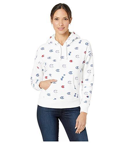 Champion LIFE Women's Printed Reverse Weave Pullover Hood - Weave-lange Ärmel Pullover