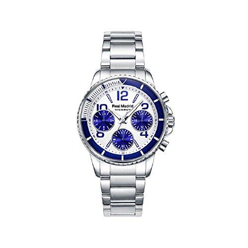 Viceroy 42300-07, Reloj Cronógrafo para Niños, Coleccíon Real Madrid