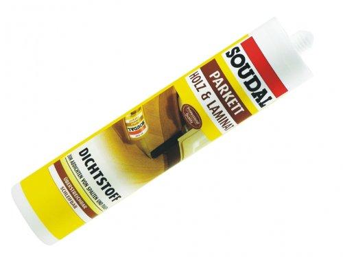 Parkett-dichtstoff (Soudal Parkettdichtstoff 310 ml Parkettacryl Dichtstoff für Parkett Holz Lami...)